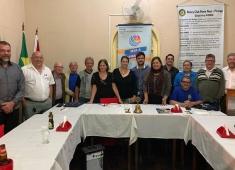 Posse do nosso Eng. Jóber Fernandes no Rotary Clube Ponte Nova Piranga